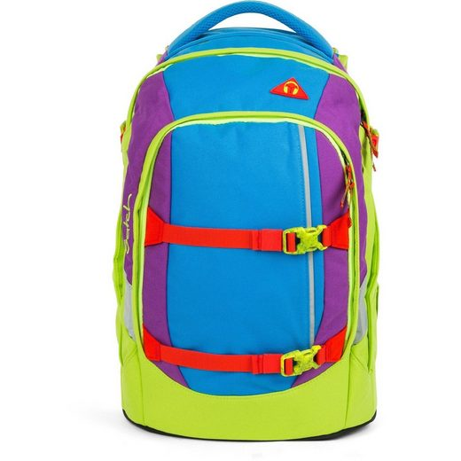 Satch Schulrucksack »packpack«, Recycled PET