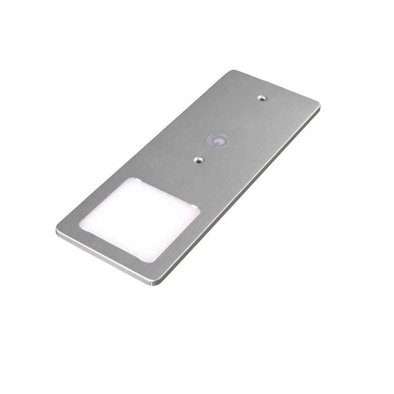 kalb LED Unterbauleuchte »kalb LED Unterbauleuchten silber 5W- sehr flache Küchenleuchte mit Touch-Dimmfunktion Einbaustrahler Einbauspot«