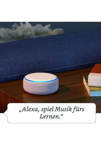 Echo Dot (3. Gen) Stereo Bluetooth-Lautspre...