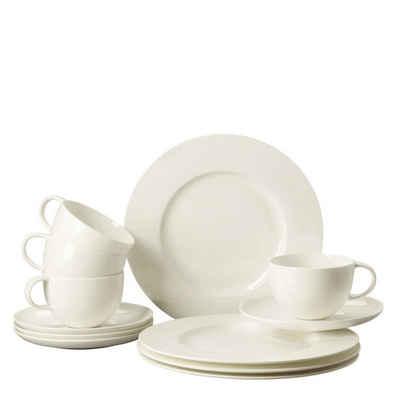 Rosenthal Kaffeeservice »Brillance Weiß Set 12-tlg.« (12-tlg), Porzellan