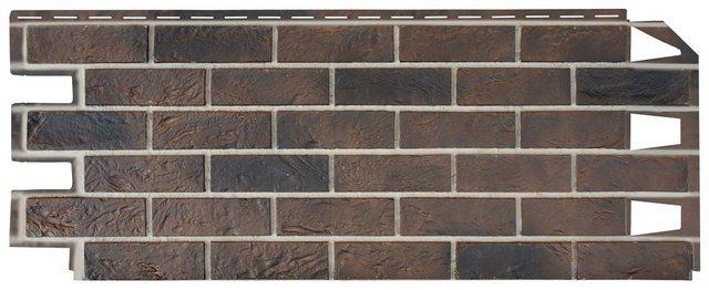 BAUKULIT Verblendsteine »Vox Solid Brick York«| 10 Stk.| 4|2m² | Baumarkt > Wand und Decke > Verblendsteine | Baukulit VOX