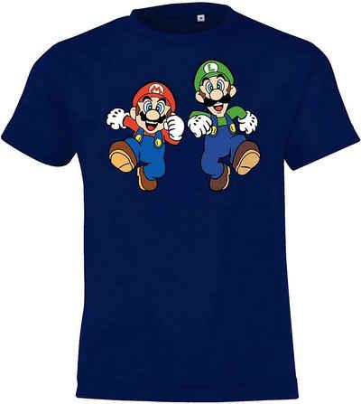 TRVPPY T-Shirt »Kinder Baby T-Shirt Mario & Luigi in allen Größen und Farben«