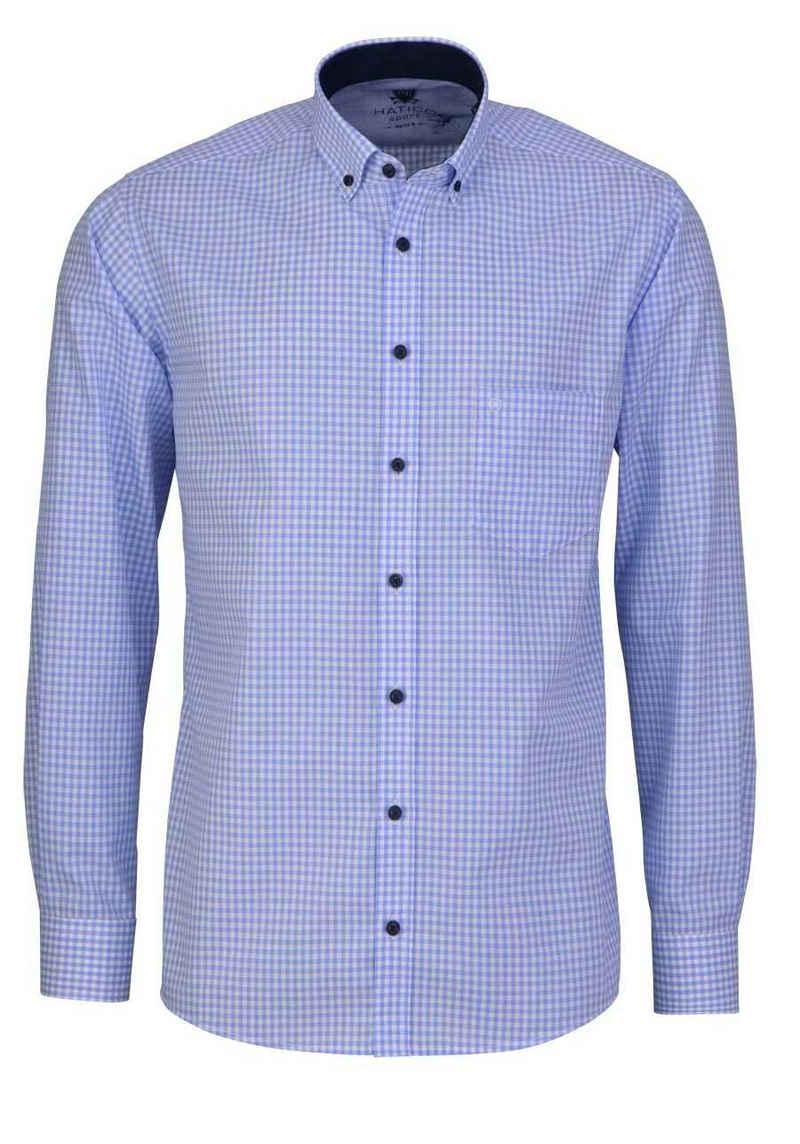 Hatico Langarmhemd »Hatico - Regular Fit«