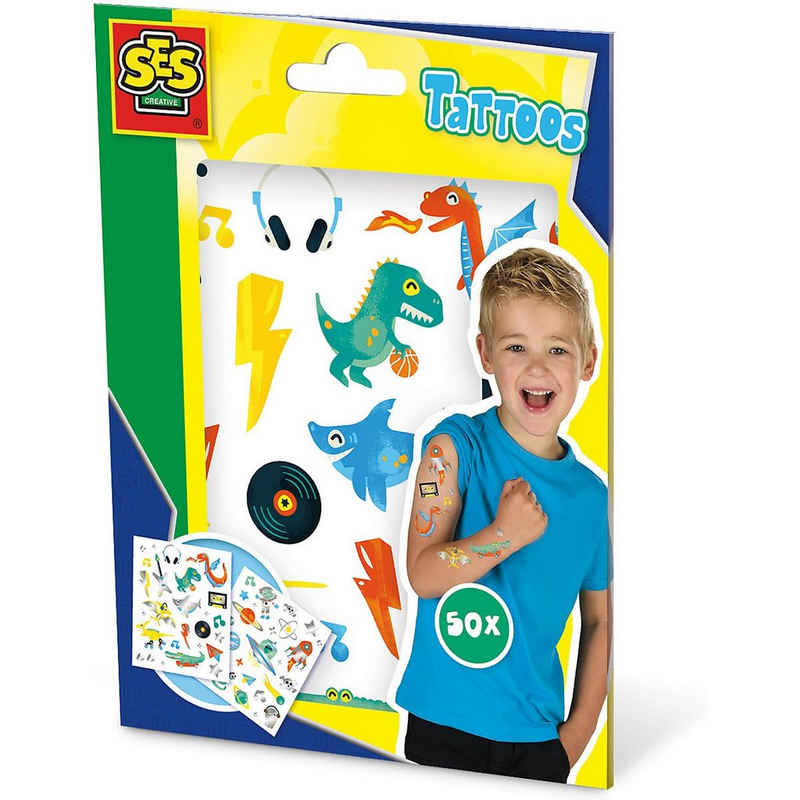 SES Creative Schmuck-Tattoo »Tattoos für Kinder«