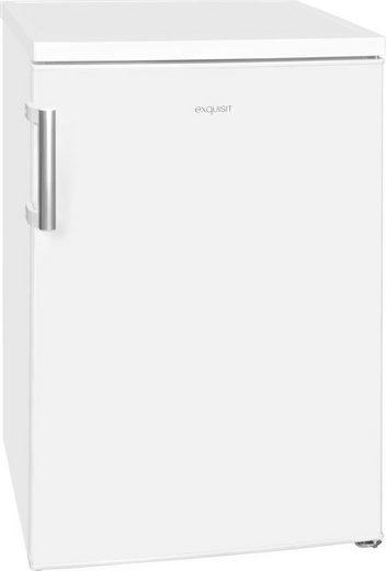 exquisit Kühlschrank KS 16-1 A++, 84,5 cm hoch, 56 cm breit