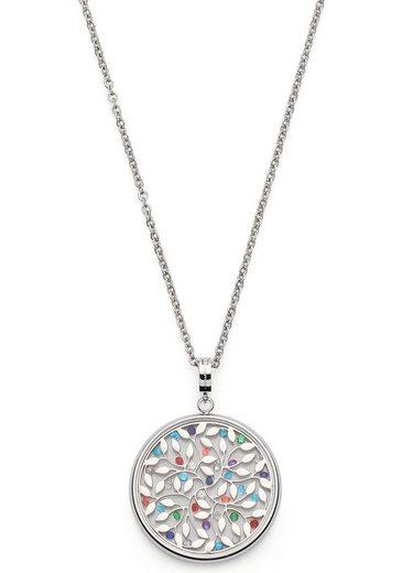 LEONARDO Kette mit Einhänger »Eliana, 021301«, mit Kristallglas