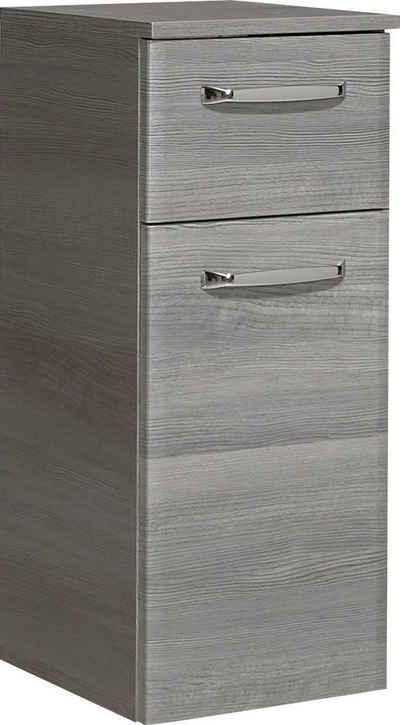PELIPAL Unterschrank »Quickset 328« Breite 30 cm, Metallgriffe, Türdämpfer, Glaseinlegeböden