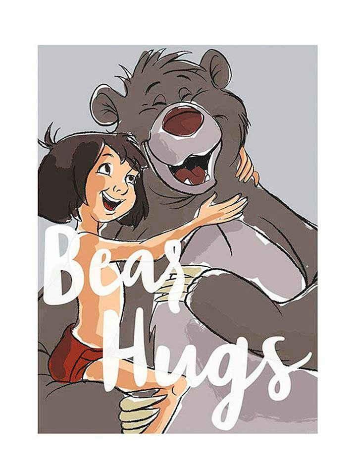 Komar Poster »Bear Hug«, Disney, Höhe: 40cm