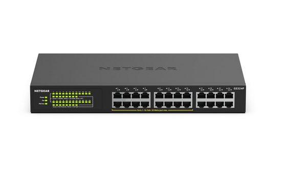 NETGEAR 24-Port Gigabit PoE+ Switch (GS324P) »Erweiterte kabelgebundene Konnektivität«
