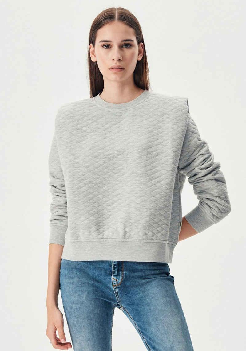 LTB Sweater »NOTENI« mit besonderen Schnittdetails im Schulterbereich