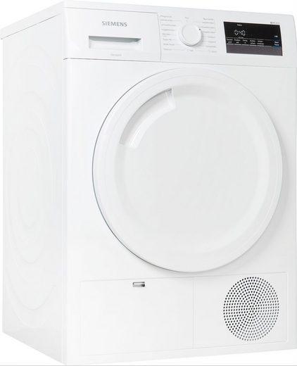 SIEMENS Kondenstrockner iQ300 WT43N202, 8 kg