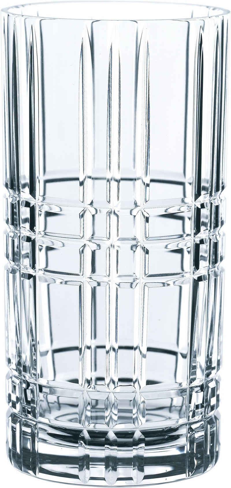 Nachtmann Longdrinkglas »Highland«, Kristallglas, 445 ml, 6-teilig