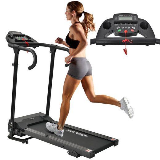 Merax Laufband »KRD«, fitness klappbar, LCD-Display, Tablet-Halterung, 12 Programmen, bis 10 km/h