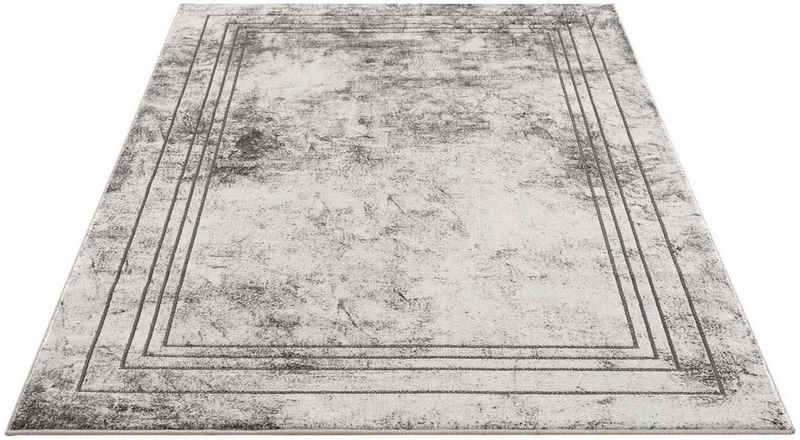 Teppich »Noa 9341«, Carpet City, rechteckig, Höhe 11 mm, Kurzflor, Wohnzimmer