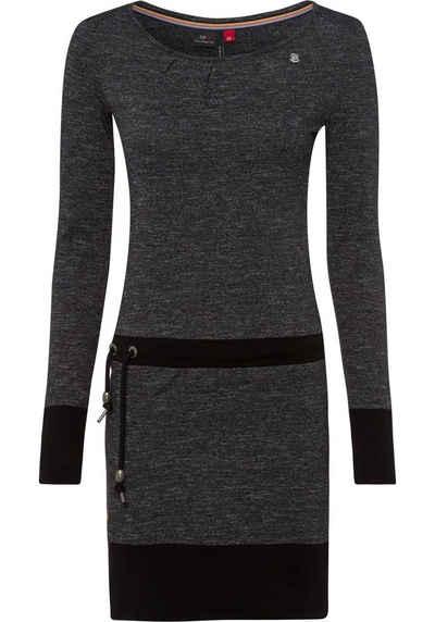 Ragwear Jerseykleid »ALEXA« mit Zierperlen-Besatz am Bindeband