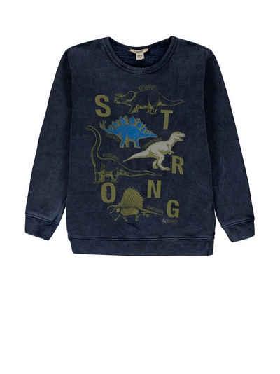 Esprit Sweatshirt »Sweatshirt mit Print, 100% Baumwolle« (1-tlg)