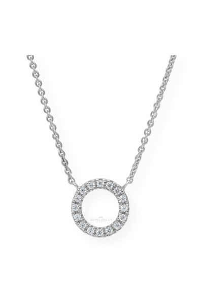 JuwelmaLux Goldkette »Halskette Weißgold«
