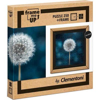 Clementoni® Puzzle »Puzzle 250 Teile Frame me up - Pusteblume«, Puzzleteile