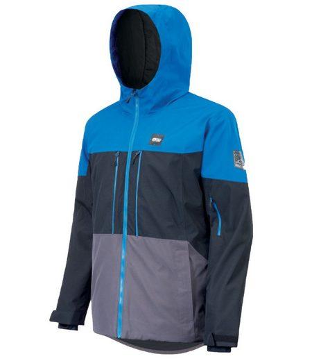 Picture Skijacke »PICTURE Object Ski-Jacke vielseitige Herren Snowboard-Jacke Hardshell-Jacke Blau/Schwarz«