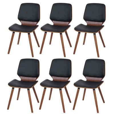 MCW Esszimmerstuhl »MCW-B16-6« (Set), 6er-Set, Breite Sitzfläche, Pflegeleicht