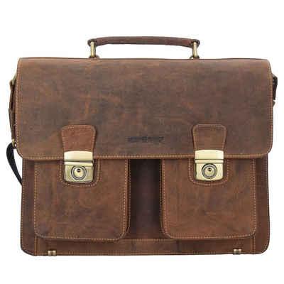 Greenburry Aktentasche »Vintage«, Leder