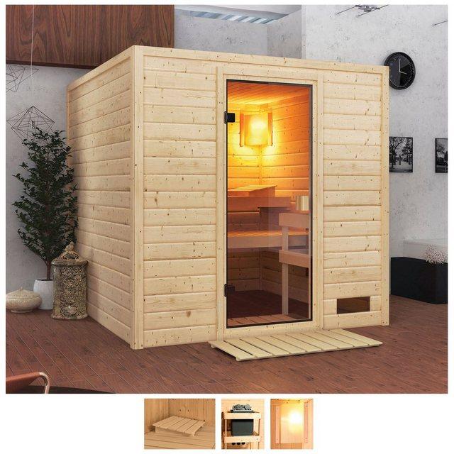 Saunen und Zubehör - Karibu Sauna »Jacky«, BxTxH 195 x 195 x 187 cm, 38 mm, ohne Ofen  - Onlineshop OTTO