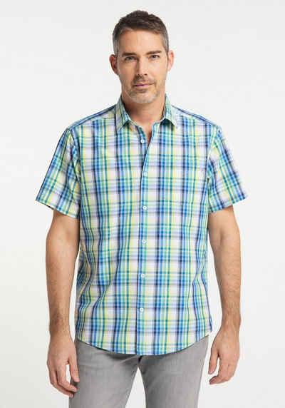 Pioneer Authentic Jeans Kurzarmhemd »Hemd kariert«