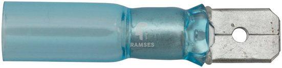 RAMSES Flachsteckzunge , blau 1,5 - 2,5 mm² Polyolefin 50 Stück