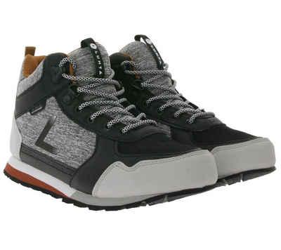 Luhta »LUHTA Urheams Outdoor-Schuhe attraktive Damen Mid-Top Sneaker mit Logo-Print Turn-Schuhe Grau/Schwarz« Sneaker