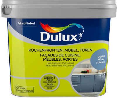 Dulux Holzlack »Fresh Up«, für Küchen, Möbel und Türen, betongrau, 0,75 l