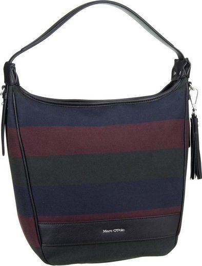 Marc O'Polo Handtasche »Liv Hobo Bag M Stripy Canvas«