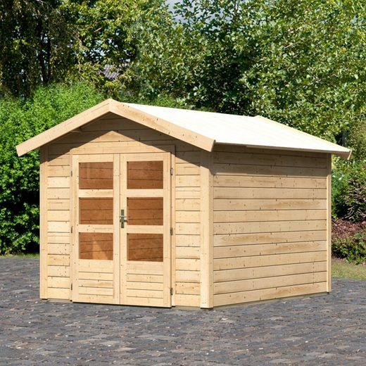WOODFeeling Gartenhaus »Tastrup 4«, BxT: 270x348 cm