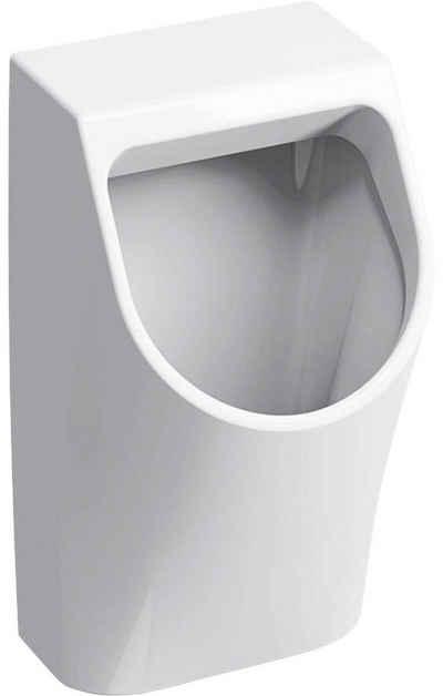 GEBERIT Urinal »Renova Plan«, Sanitärkeramik, Abgang senkrecht, Zu- und Ablauf nach hinten