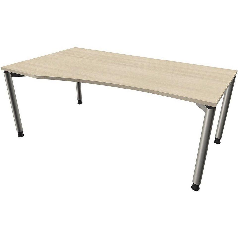 Schreibtisch Höhenverstellbar Manuell 2021