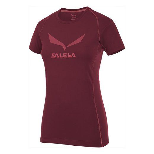 Salewa T-Shirt »Salewa - Logo Dry Tee (T-Shirt Damen)«
