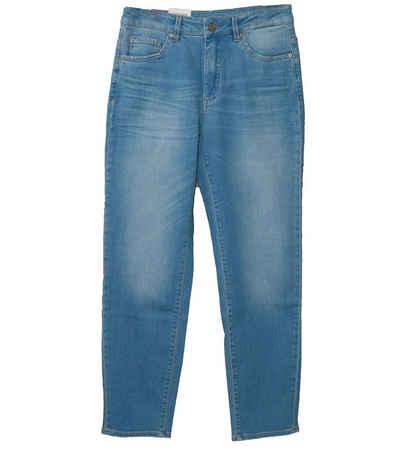 ROSNER Regular-fit-Jeans »Rosner Mila Jeans Klassische High Waist Relaxed Damen Freizeit-Jeans Hose im 5-Pocket Stil Blau«