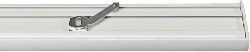 Gardinenschiene »Flächenvorhangschiene 2 - 5 lauf, spezial«, GARESA, 4-läufig, Wunschmaßlänge
