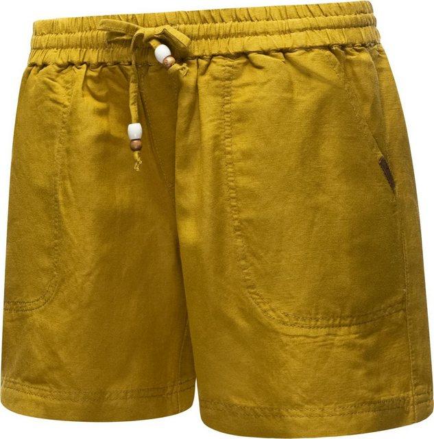 Hosen - Ragwear Shorts »Keito Organic« leichte kurze Leinenhose mit Tunnelzugband › braun  - Onlineshop OTTO