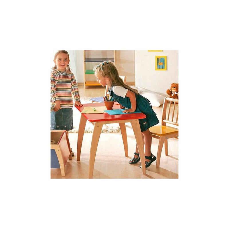 Geuther Tisch »Kindertisch Bambino, Buche teilmassiv, rot«