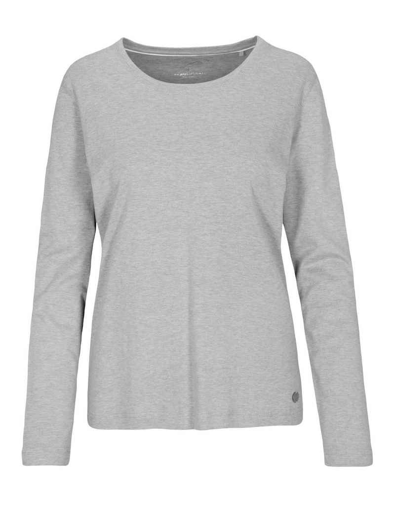 Clarina Langarmshirt aus Pima Cotton