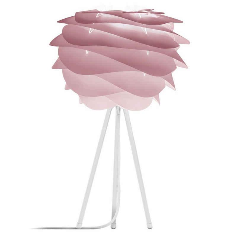 Umage Stehlampe »Umage / VITA Carmina mini Tischleuchte rosa inkl.Tripod (für A++ bis E) weiß H 36 cm, Lampe«