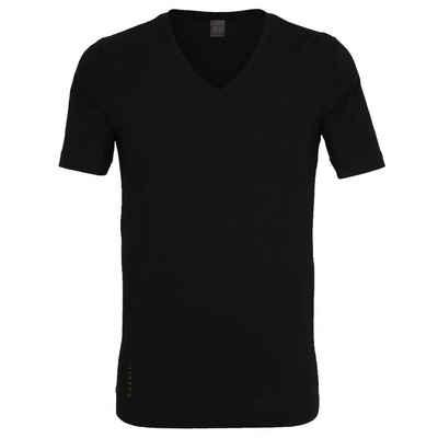bugatti T-Shirt (1-tlg) aus Modal-Qualität mit V-Ausschnitt im 1er Pack