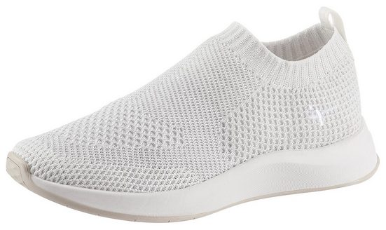 Tamaris »Fashletics« Slip-On Sneaker mit feinem Metallic-Schimmer