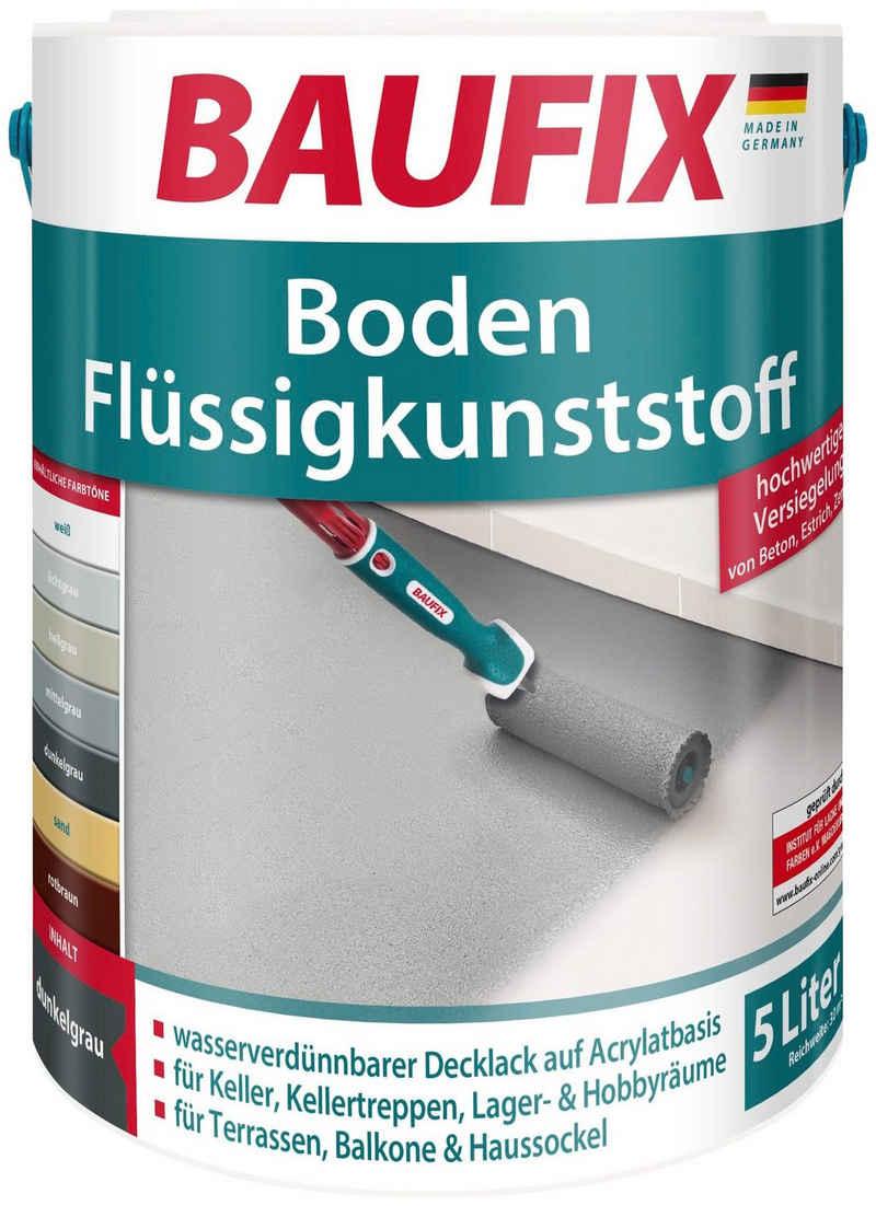 Baufix Acryl-Flüssigkunststoff »Boden-Flüssigkunststoff«, 5 Liter, grau