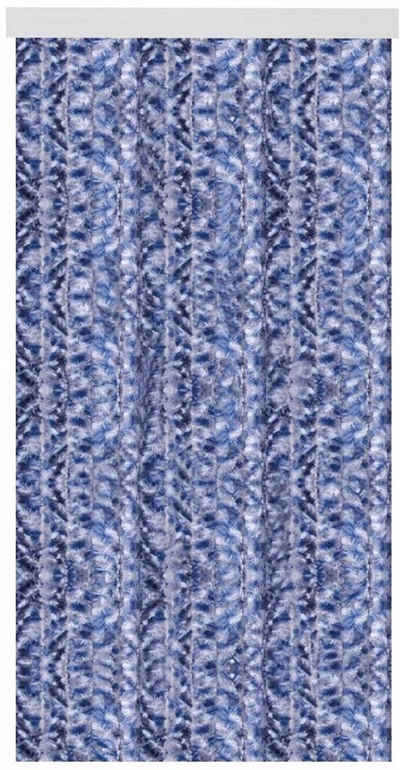 Fadenvorhang, Arsvita, Hakenaufhängung (1 Stück), Flauschvorhang in 80cm Breite, perfekter Insekten- und Sichtschutz, viele versch. Farben verfügbar