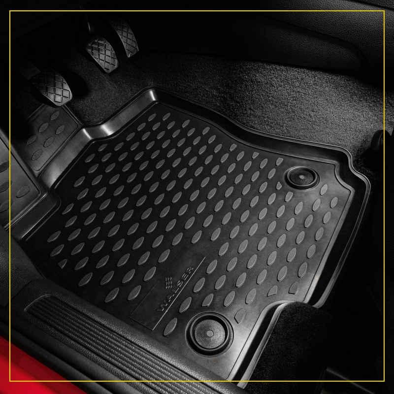 WALSER Passform-Fußmatten »XTR« (4 Stück), VW Tiguan Geländewagen, für VW Tiguan BJ 2016 - heute