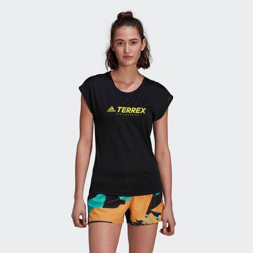 adidas TERREX T-Shirt »TERREX Primeblue Trail Functional Logo T-Shirt«