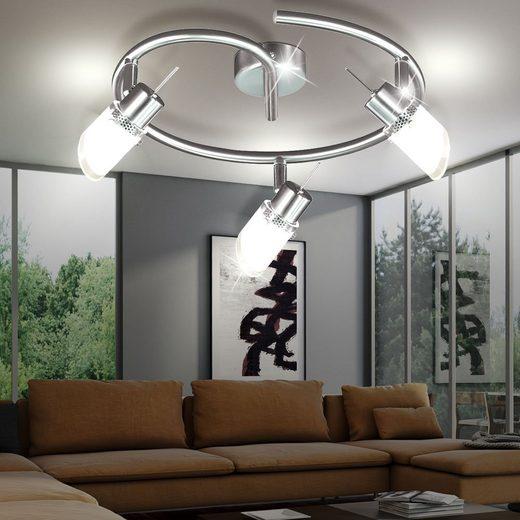 WOFI Deckenspot, Decken Strahler Beleuchtung Lampen Glas Leuchte Wofi MICKY 9849.03.64.0000