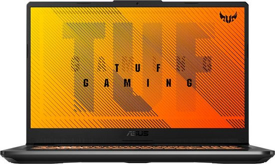 Asus TUF GAMING A17 FA706IH-H7049T Gaming-Notebook (AMD Ryzen 5, GeForce GTX 1650, 512 GB SSD)
