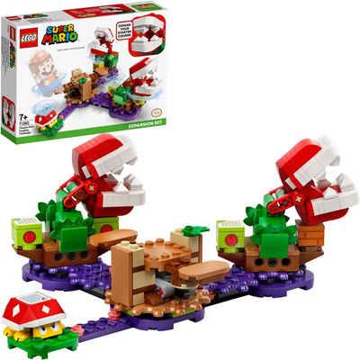 LEGO® Konstruktionsspielsteine »Piranha-Pflanzen-Herausforderung – Erweiterungsset (71382), LEGO® Super Mario«, (267 St), Made in Europe
